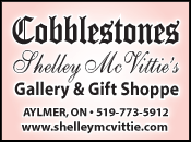 Cobblestones Shelly McVittie's Gallery and Gift Shoppe