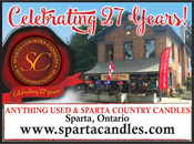 Sparta Country Candles