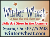 Winter Wheat Folk Art Store in the Country